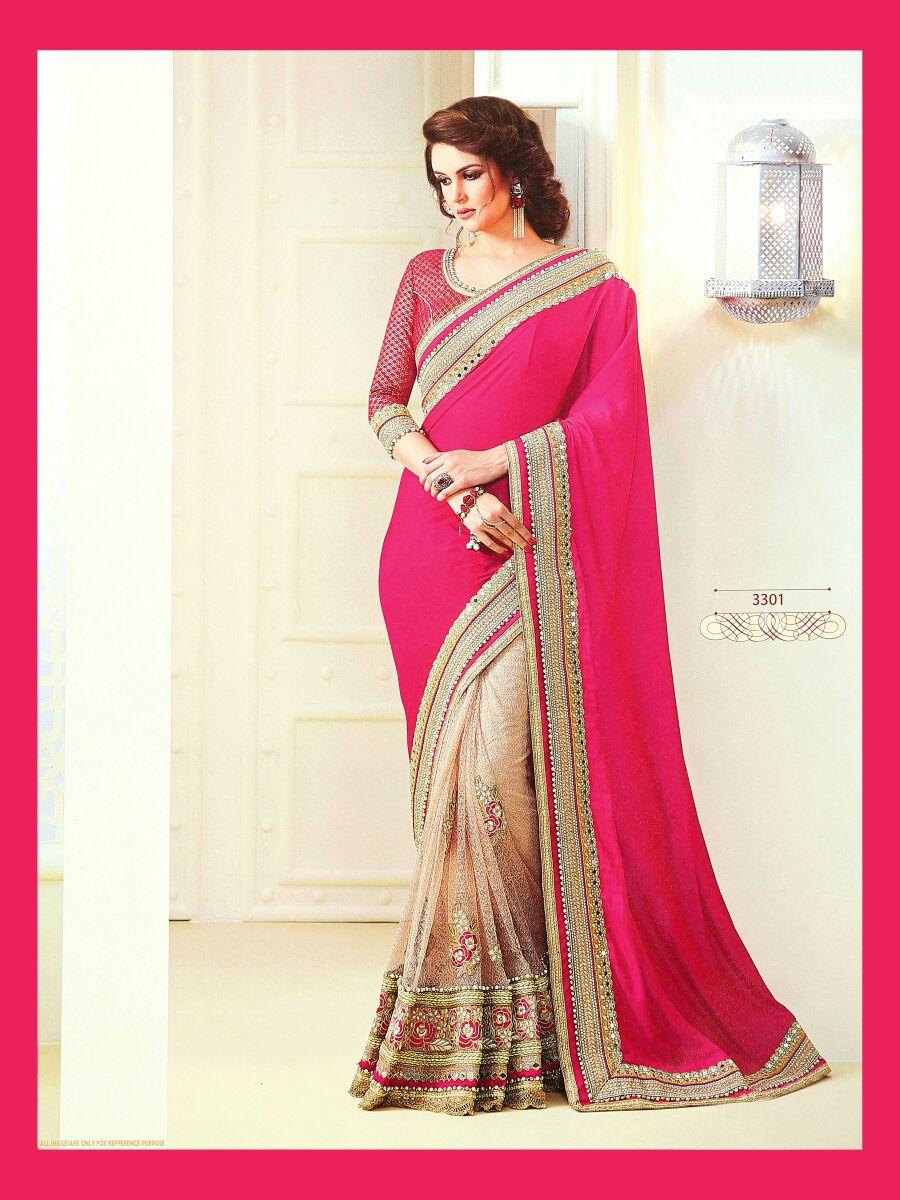 Sunny Leone Platinum Designer Sarees Rate 2250/-