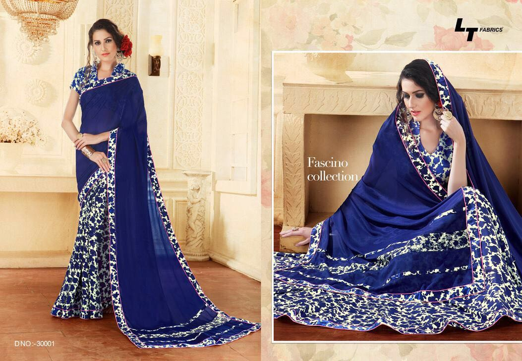 Lt Fashion Orchid Collection Georgette Rate 595/-