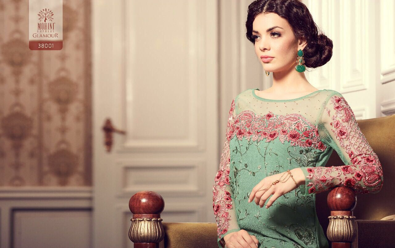 Mohini Fashion Presents Glamour Vol 38 Rate 1980/-