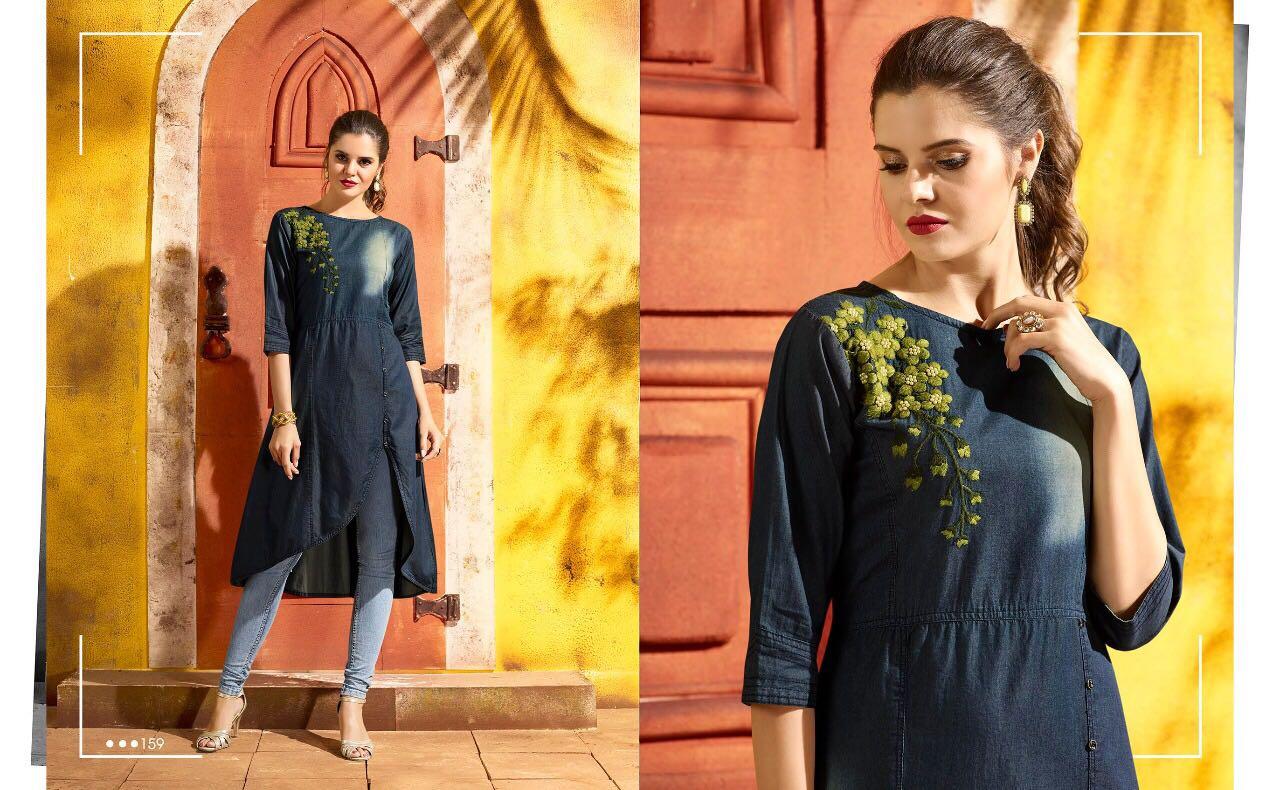 Kajree Fashion Shehzaadi Kurtis Rate 599/-