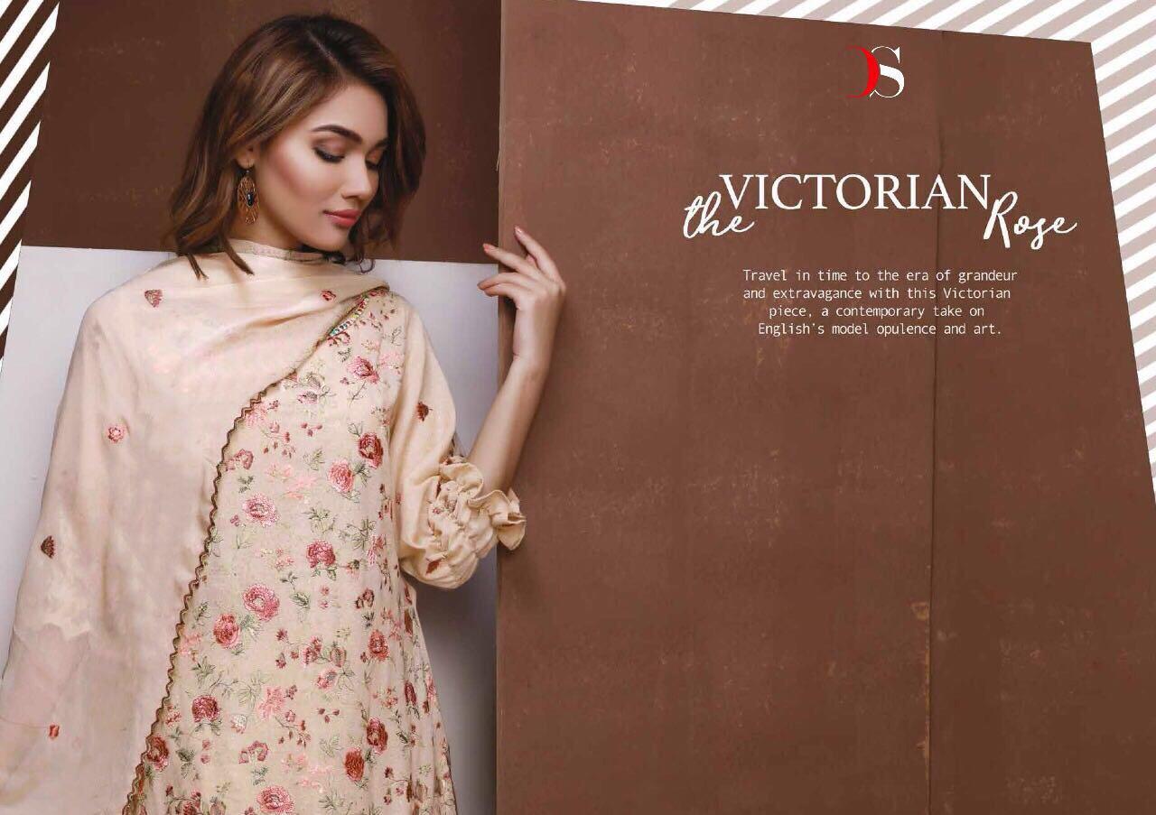 Deepsy Present Pure Cotton Embroidery Zara Vol 2 Rate 899/-