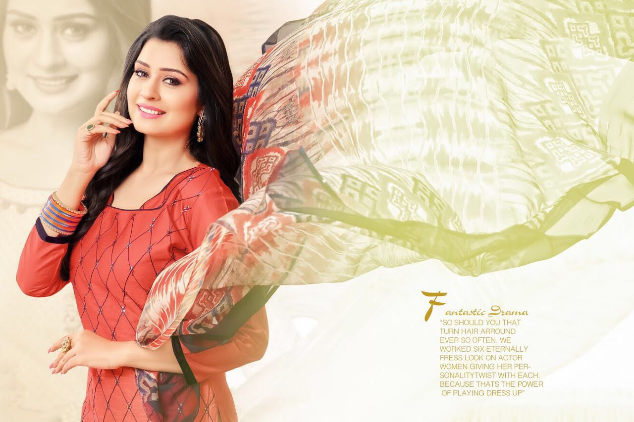 R R Fashion Presents Fantassy Cotton Chiffon Wholesale Price - 385/-