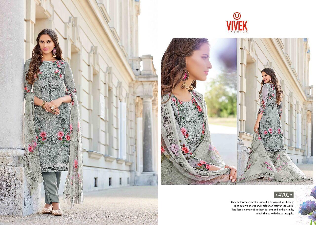 Vivek Fashion Presents Girl Georgette Digital Print With Aari Work Wholesale Price - 1495/-
