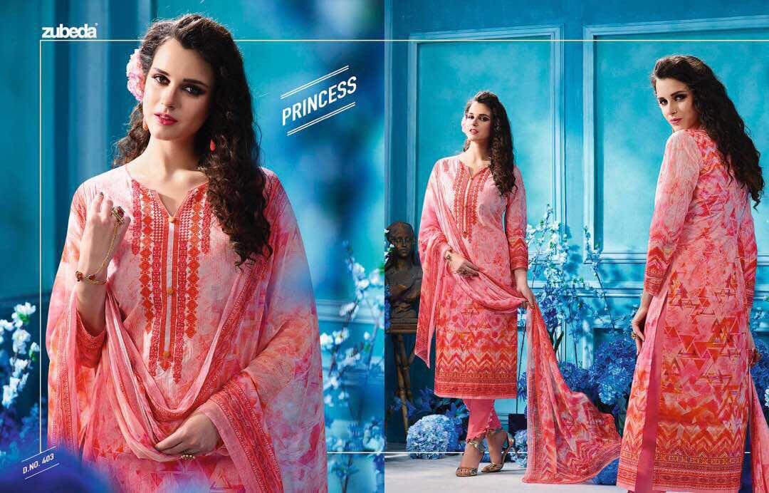 Zubeda Hafiza Presents Organdi Digital Printed Suits Wholesale Price -1535/-
