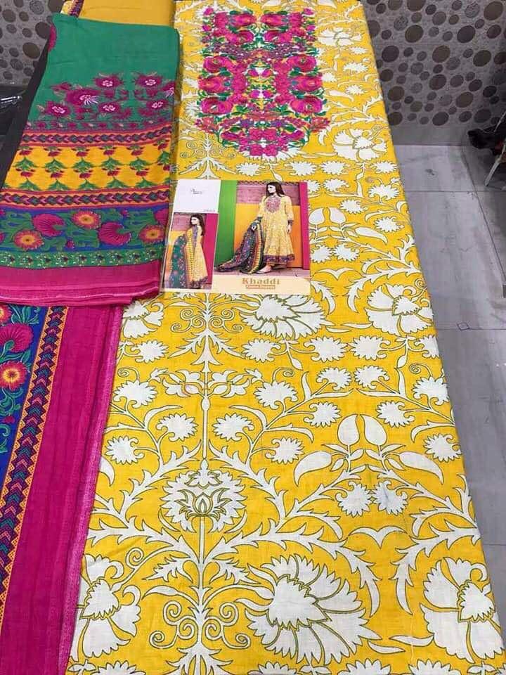 Shree Fab Presents Cotton Khadi Hit Design Rate 785/-