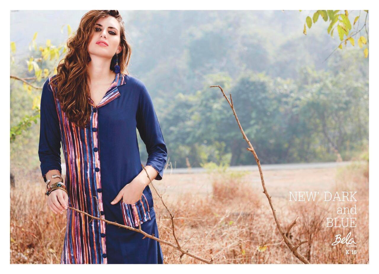 Bela Presents Lifestyle Rayon Print Designer Kurtis Wholesale Price - 540/-