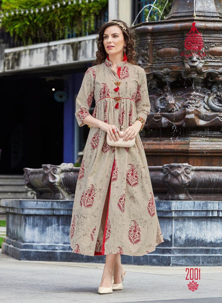 Kajal Style Presents F Monza Vol 2 Cotton With Fabulous Prints Wholesale Price - 475
