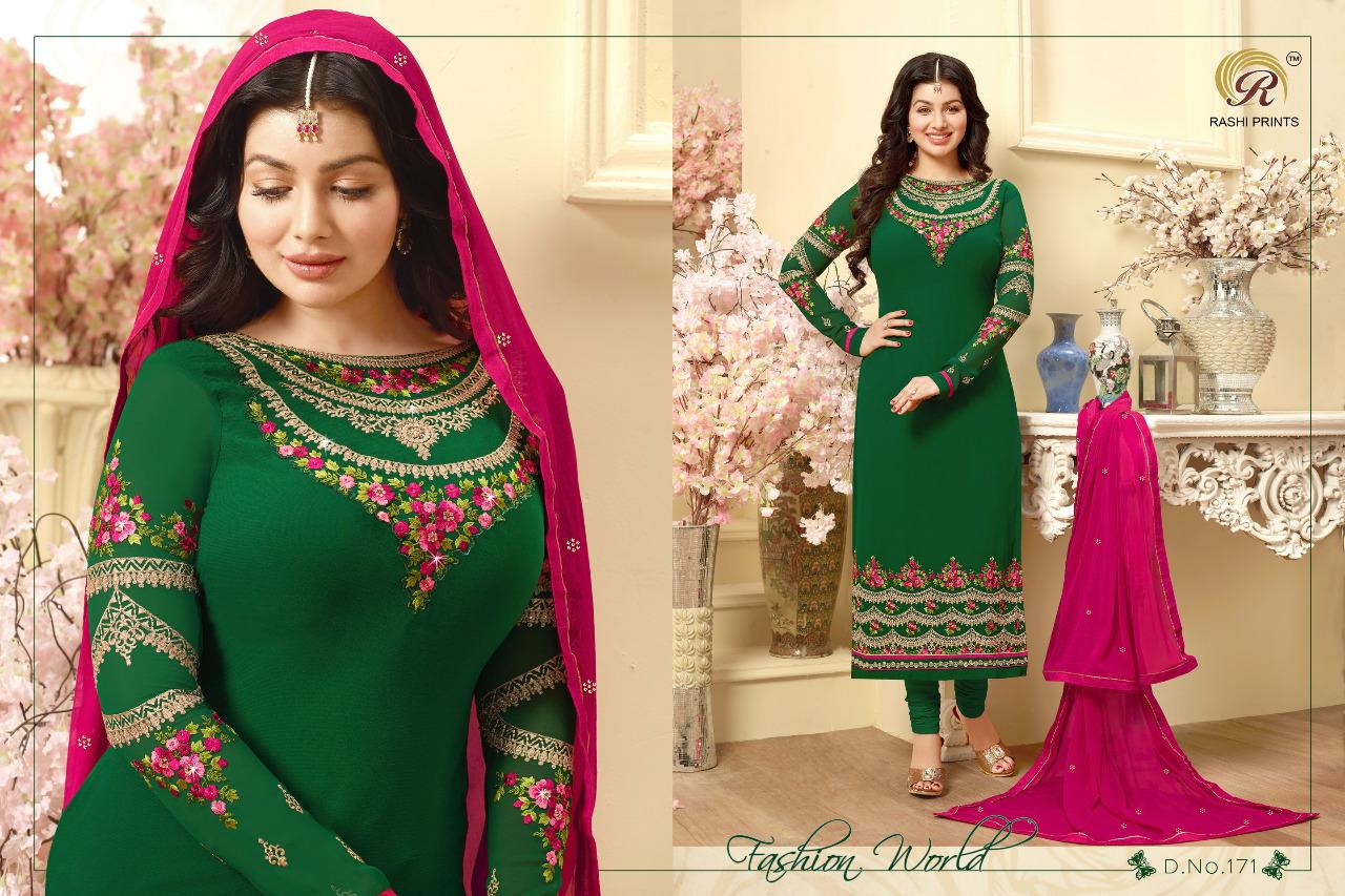 Rashi Prints Maharani Georgette Wholesale Rate 1295