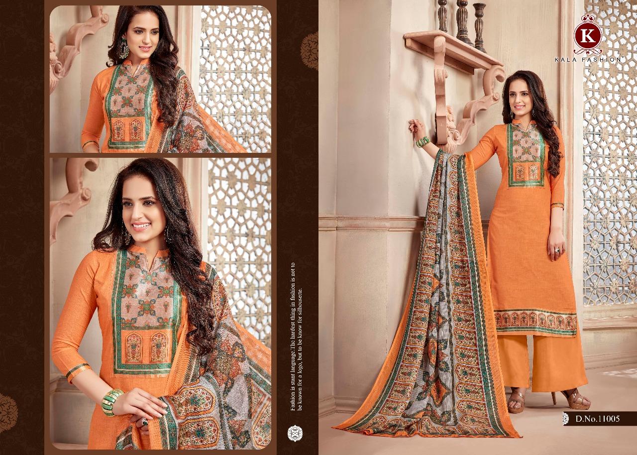 Kala Fashion Princess Vol 2 Cotton Linen Wholesale Rate 721