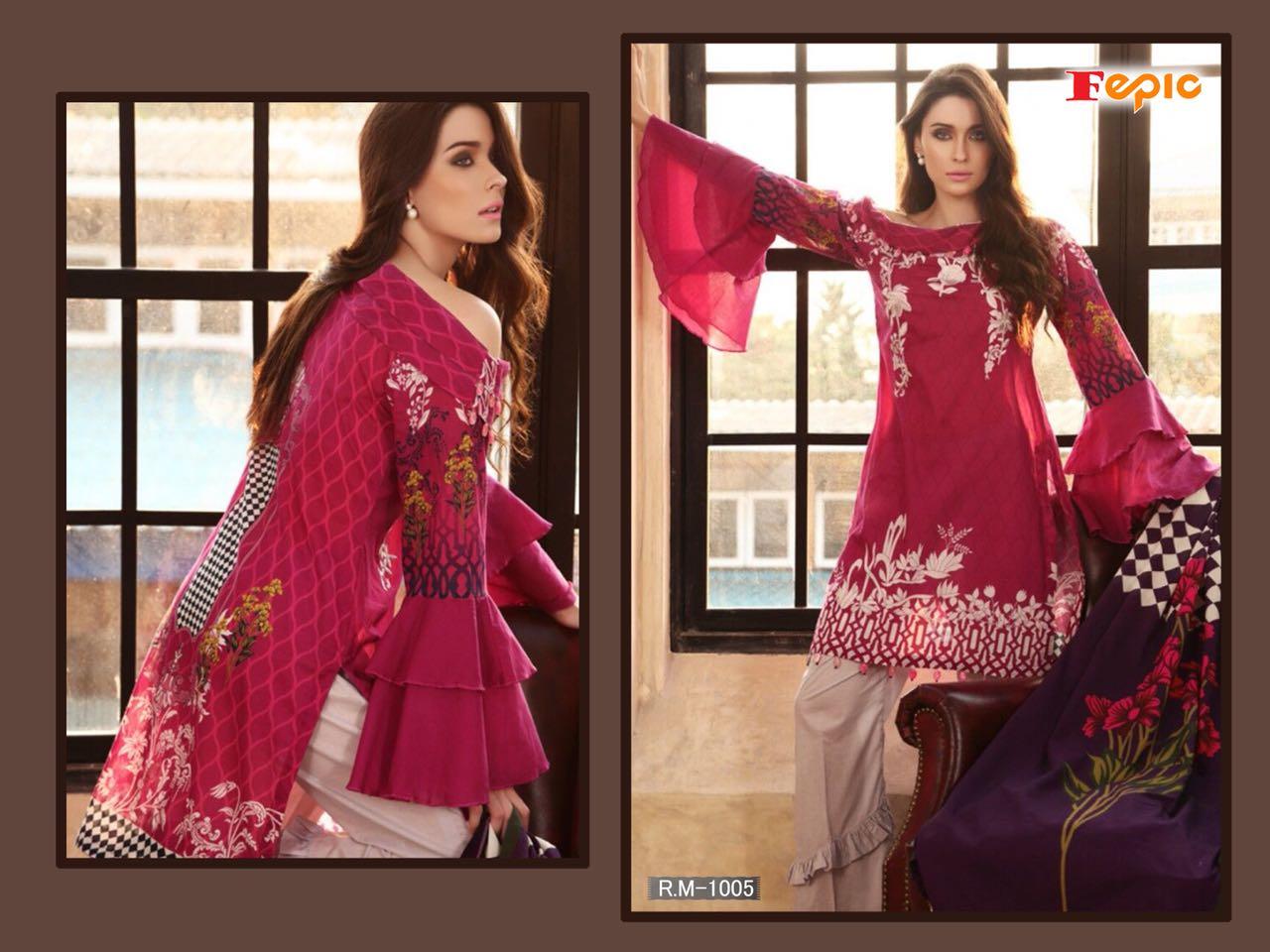 Rosemeen Rimijim Designer Party Wear Eid Collection Suit