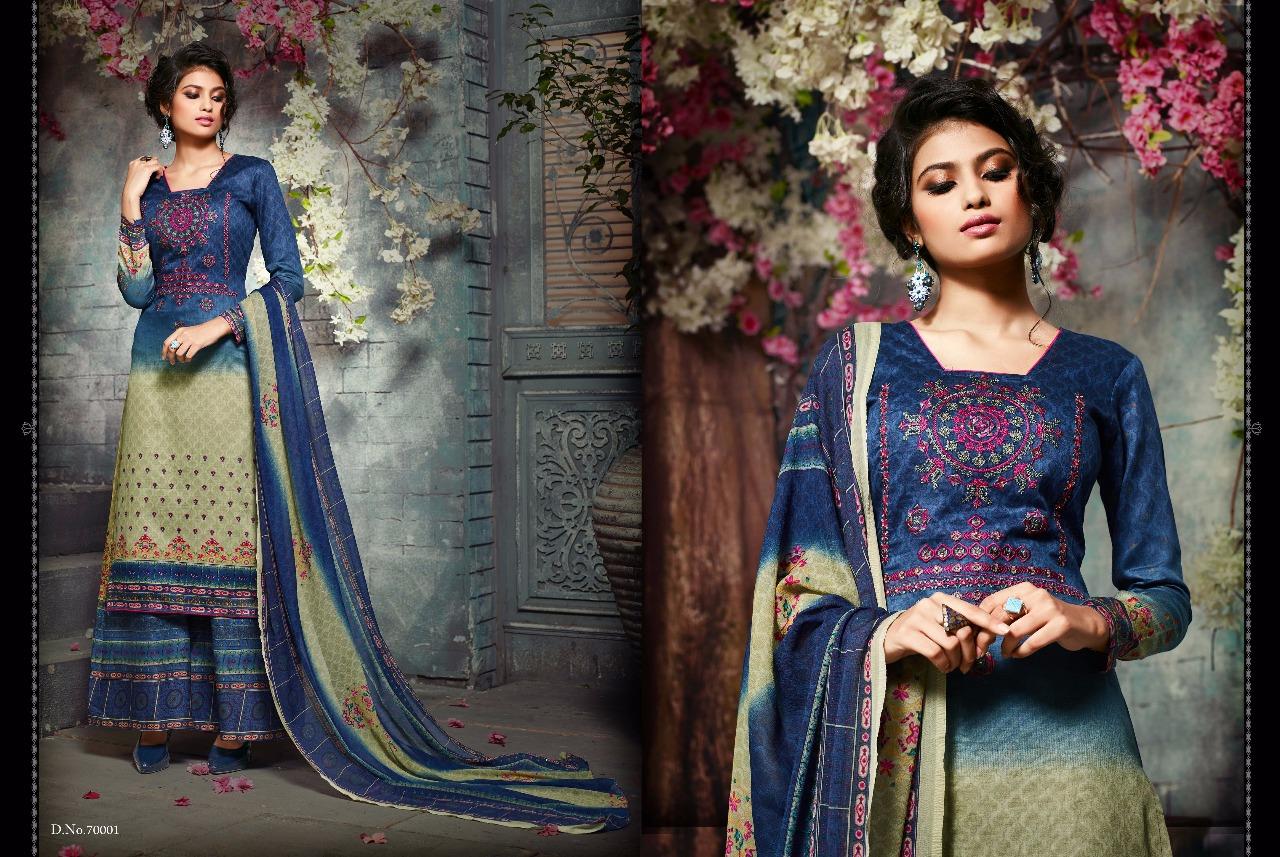 Sargam Prints Shaziya Vol 3 Pure Jam Silk Cotton Embroidery