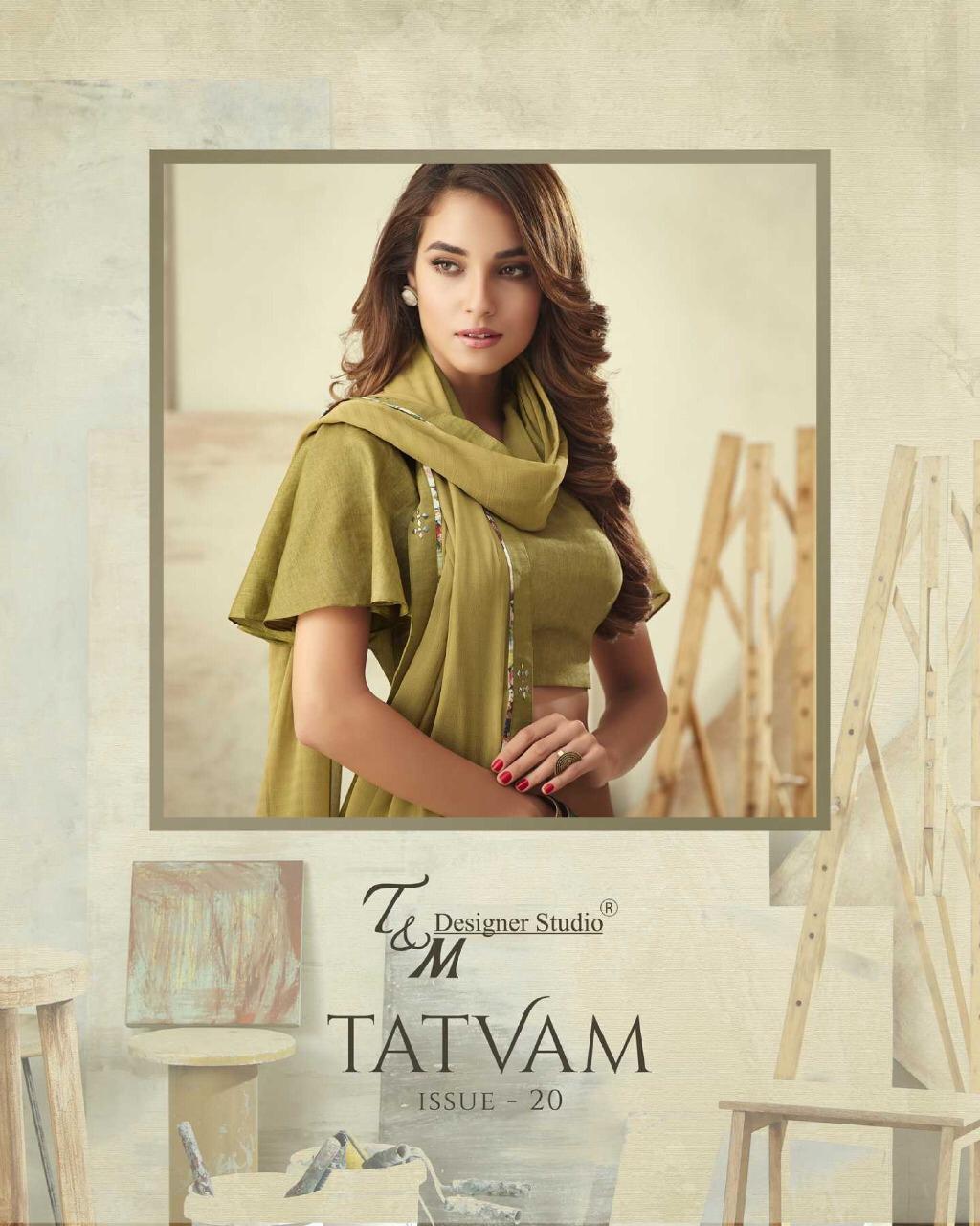 T&m Tatvam Vol 20 Designer Heavy Suits Wholesale