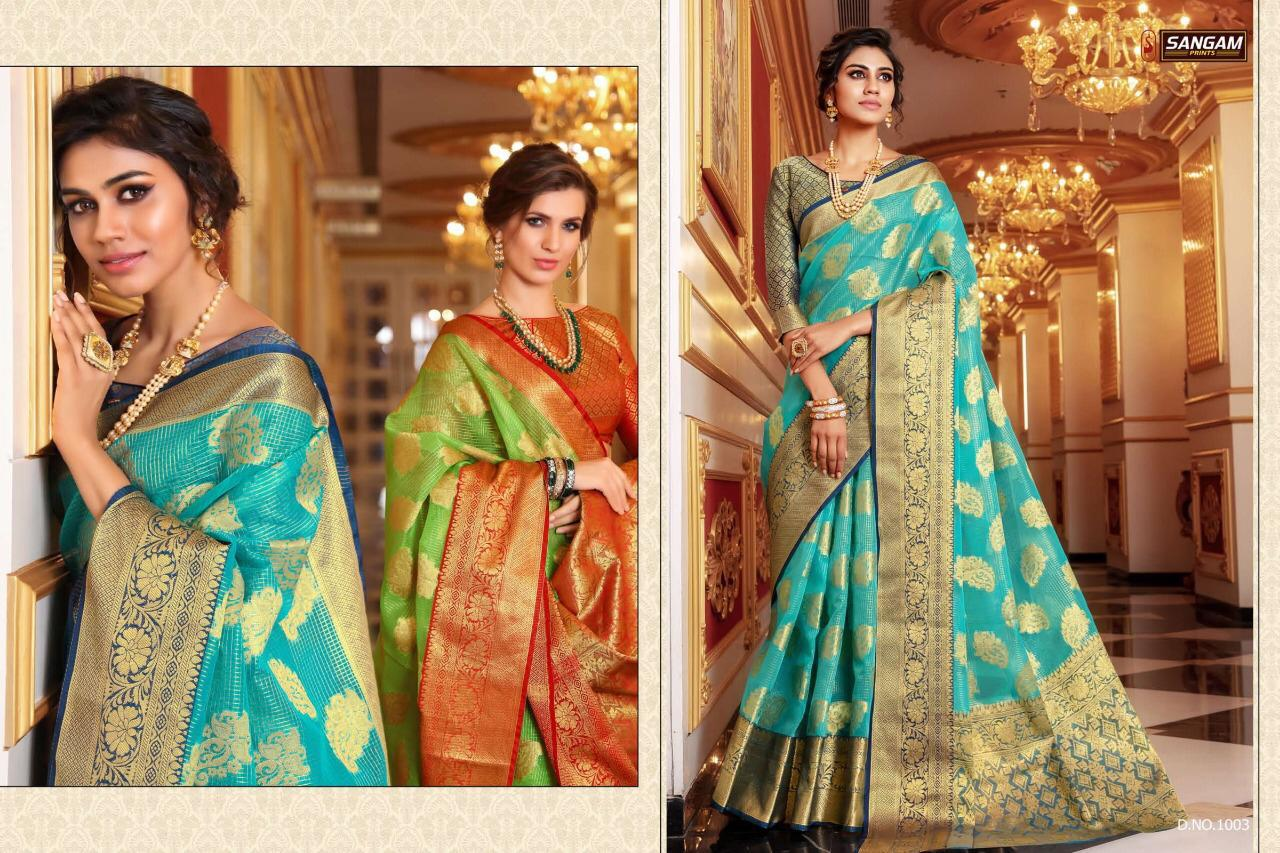 Sangam Aamaya Launch New Designer Sarees Wholesale