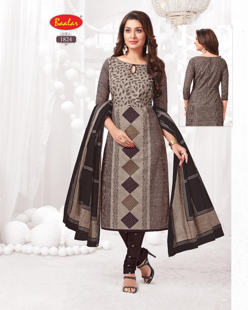 Balaar  1800 Series Cotton  Suits Collections Wholesale Box
