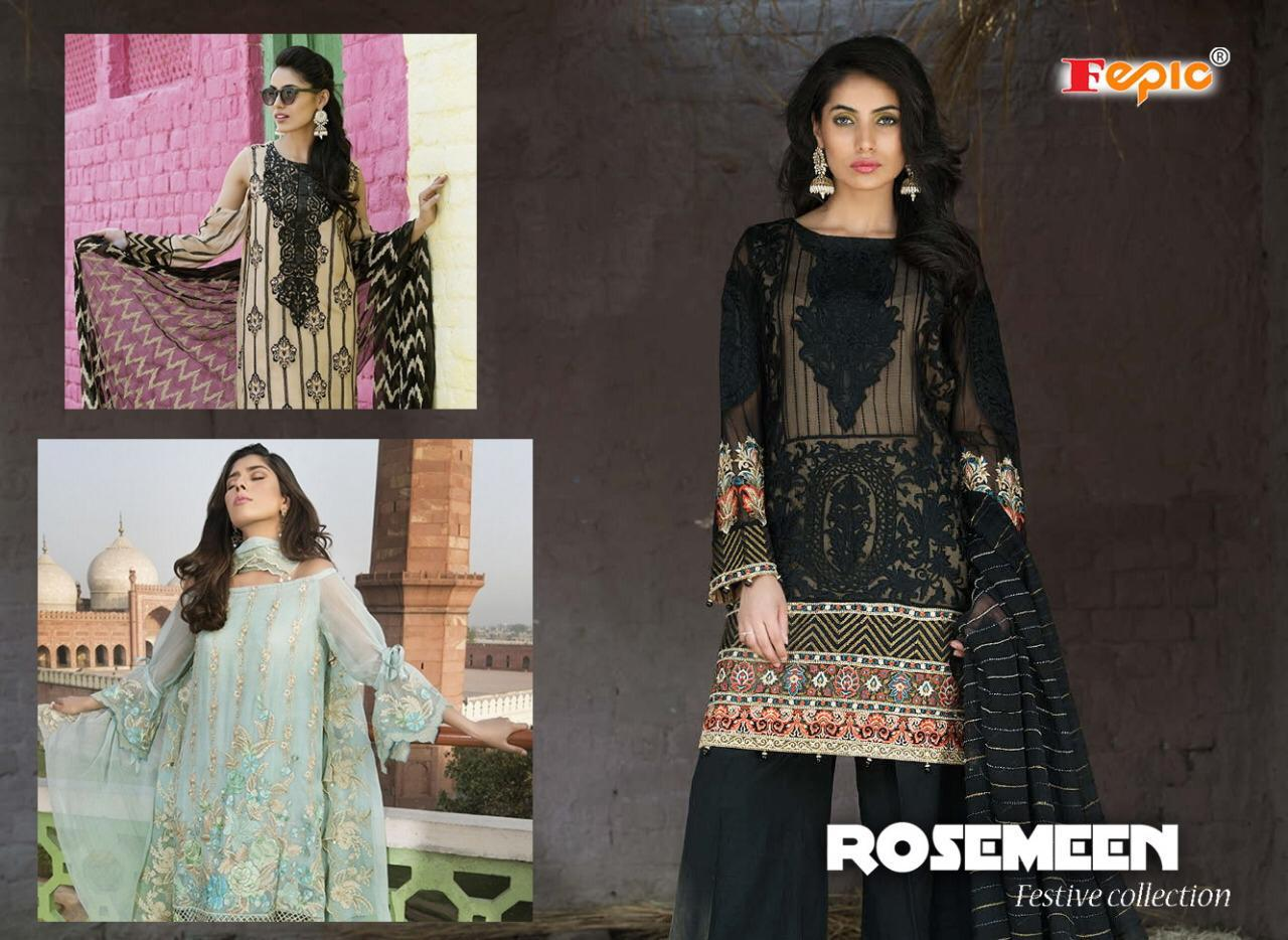 Fepic Rosmeen Festive Collection Of Suits Wholesale