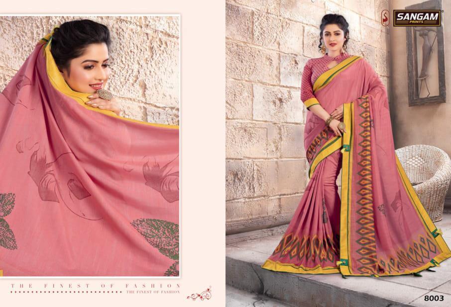 Sangam Bela Designer Sarees In Cheapest Wholesale Rate
