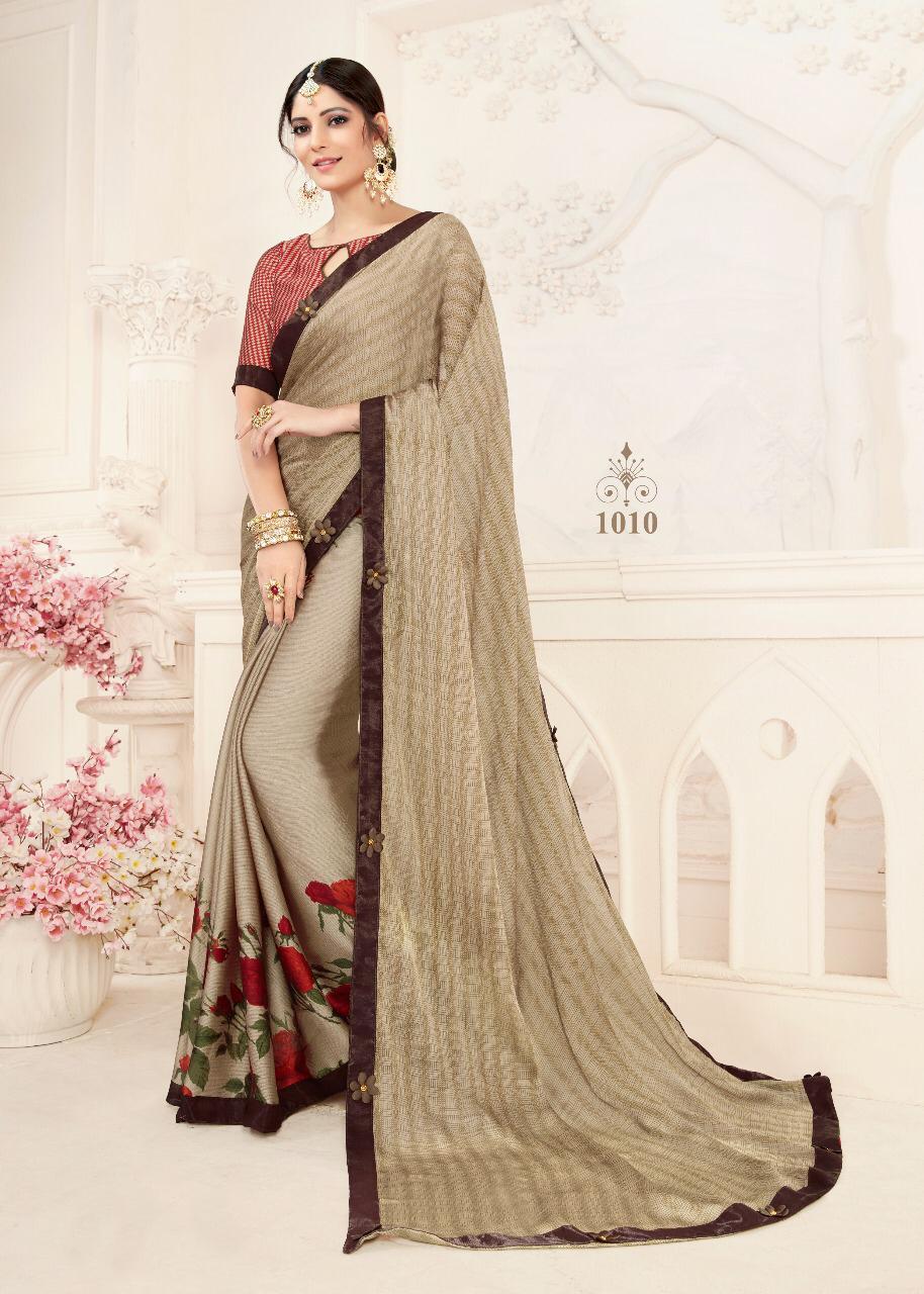 Shree Shankeshwar Glimps Designer Partywear Sarees Wholesale