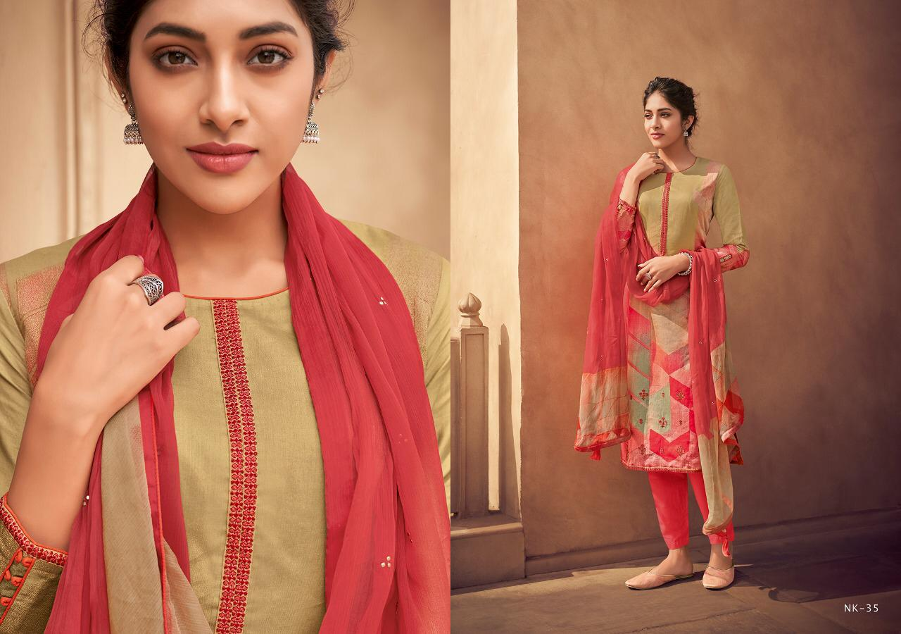 Esta Naira Designer Party Suits In Cheapest Wholesale Rate