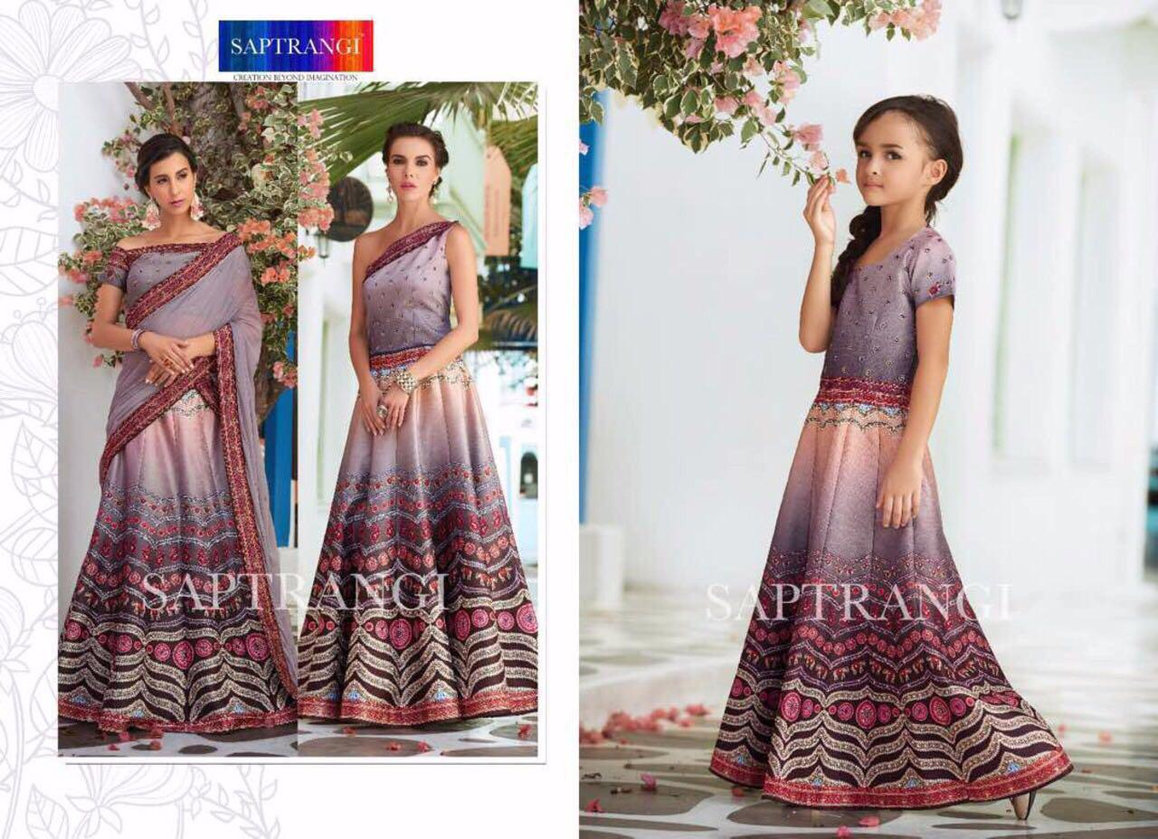 Signature Vol 3 Mother Daughter Designer Gowns In Wholesale