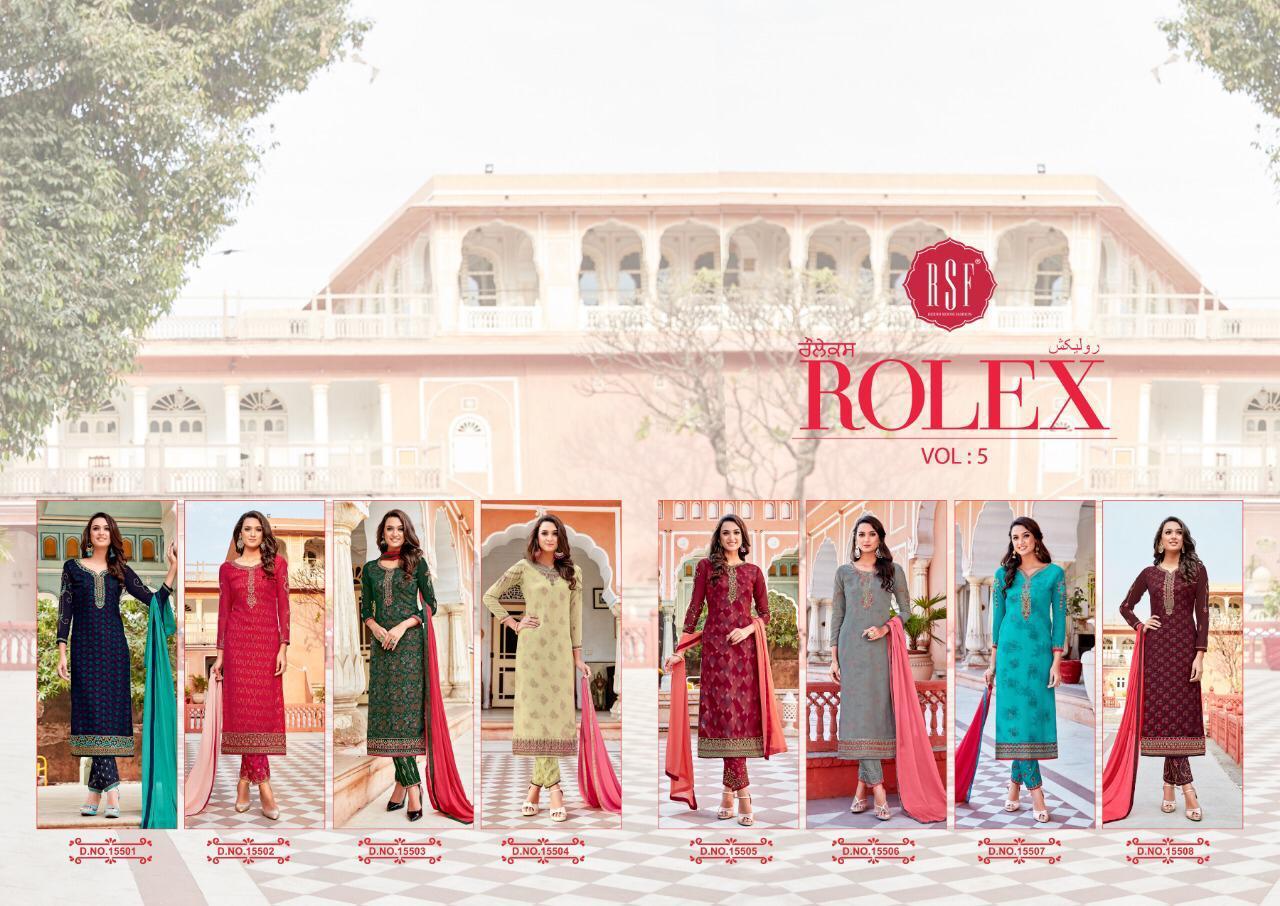 Rolex Vol 5 Designer Partywear Suits In Best Wholesale Rate