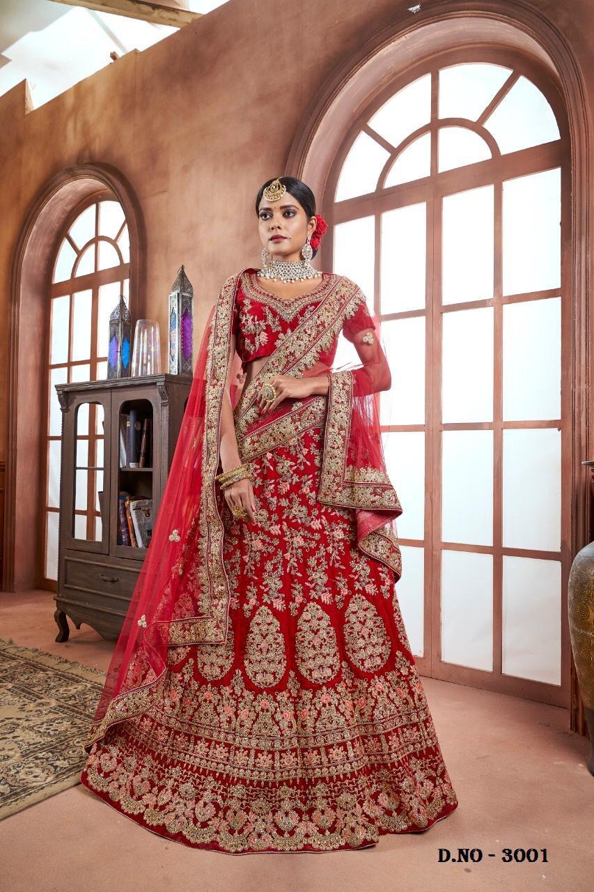 Kamal Designer Heavy Work Wedding Lehenga Best Wholesale Rat