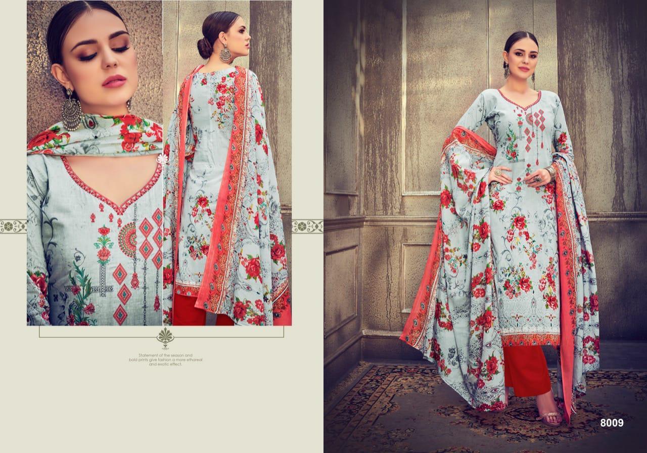 Shree Vijay Adaa Designer Cotton Embroidary Suit Wholesale
