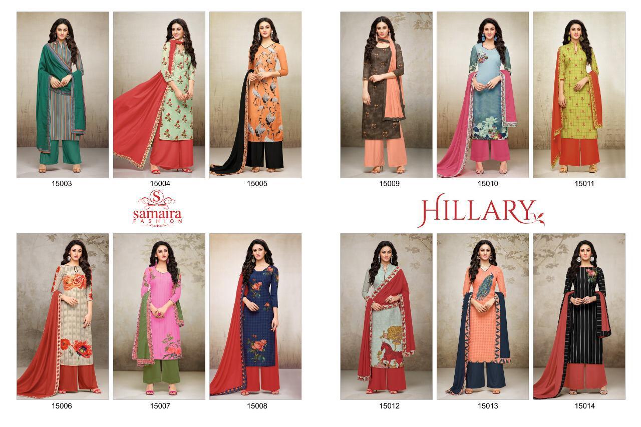 Samaira Trend Hillary Maslin Digital Print Kurties Wholsale