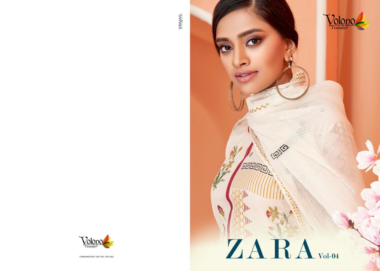 Volono Zara Vol 4 Designer Heavy Emb Work Suits Wholesale