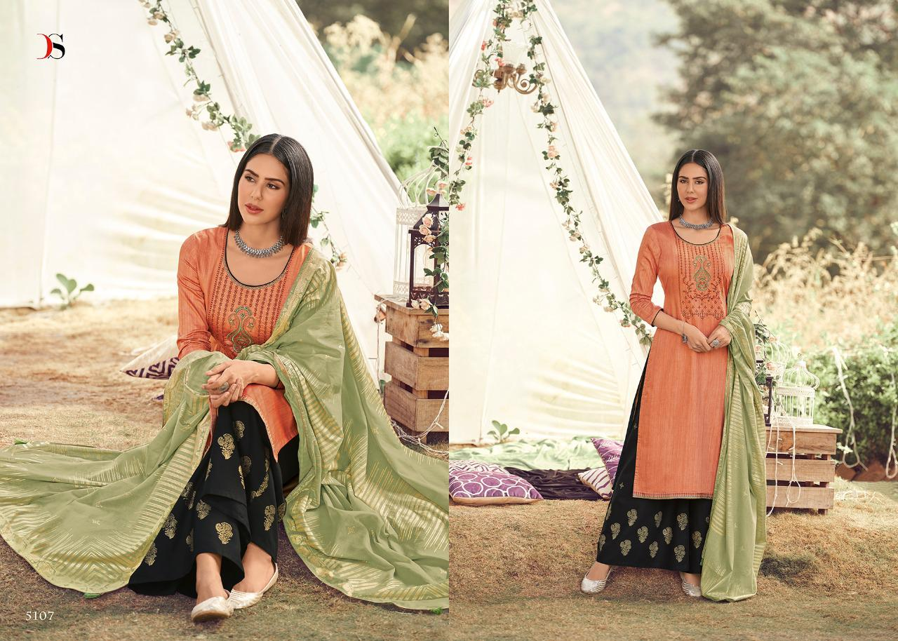 Guzarish Deepsy Jam Cotton Printed With  Embroidery Work Festival And Daily Wear Suits In Best Wholesale Rate
