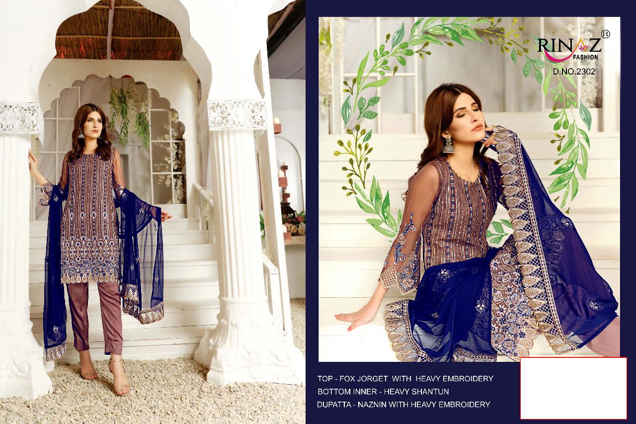 Rinaaz Fashion Signature Designer Heavy Work Suits Wholesale Rate