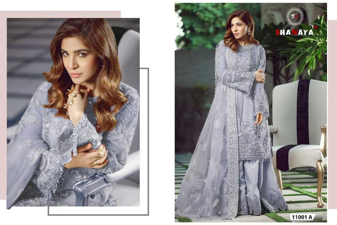 Shanaya Superhit Designs 1101 Collection In Lowest Price Wholesale Single