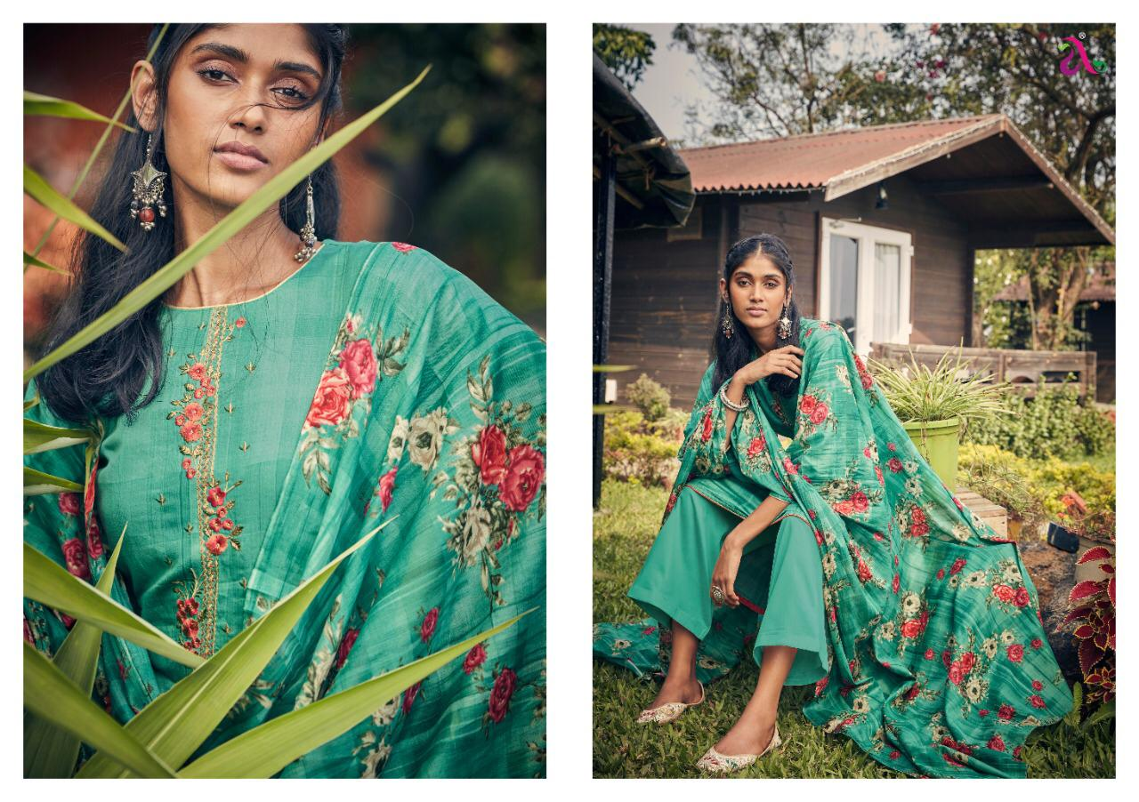 Angoor Plus Reyes Designer Pure Jam Silk With Heavy Self Embroidery Work Suits In Lowest Price Wholesale