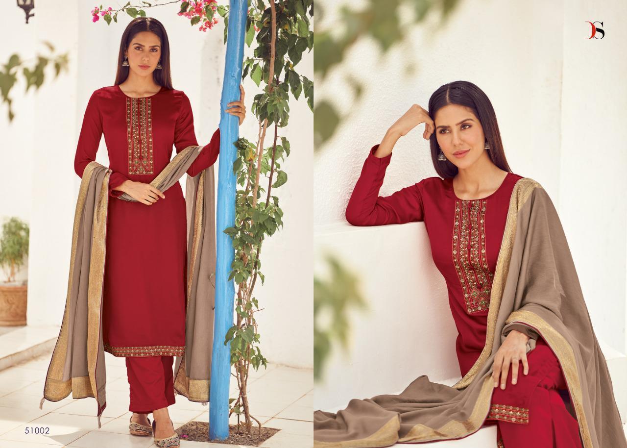 Deepsy Suit Royal Touch Premium Pashmina Designer Pashmina Self Embroidery Work Suits Wholesale