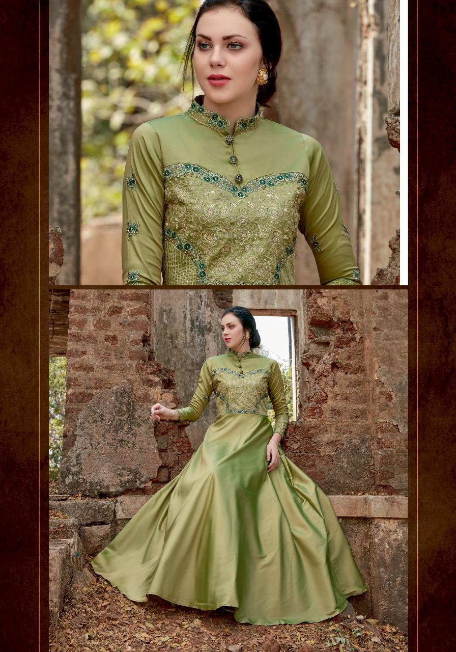 Parra Studio Ghoomar Vol 1 Tapeta Silk With Tajima Work Gowns Wholesale