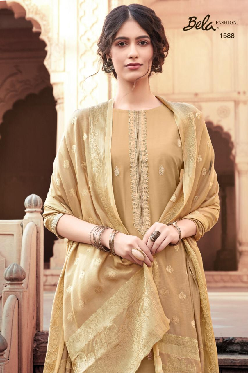 Bela Fashion Aasna 2 Designer Party Wear Heavy Embroidery Suits Wholesale