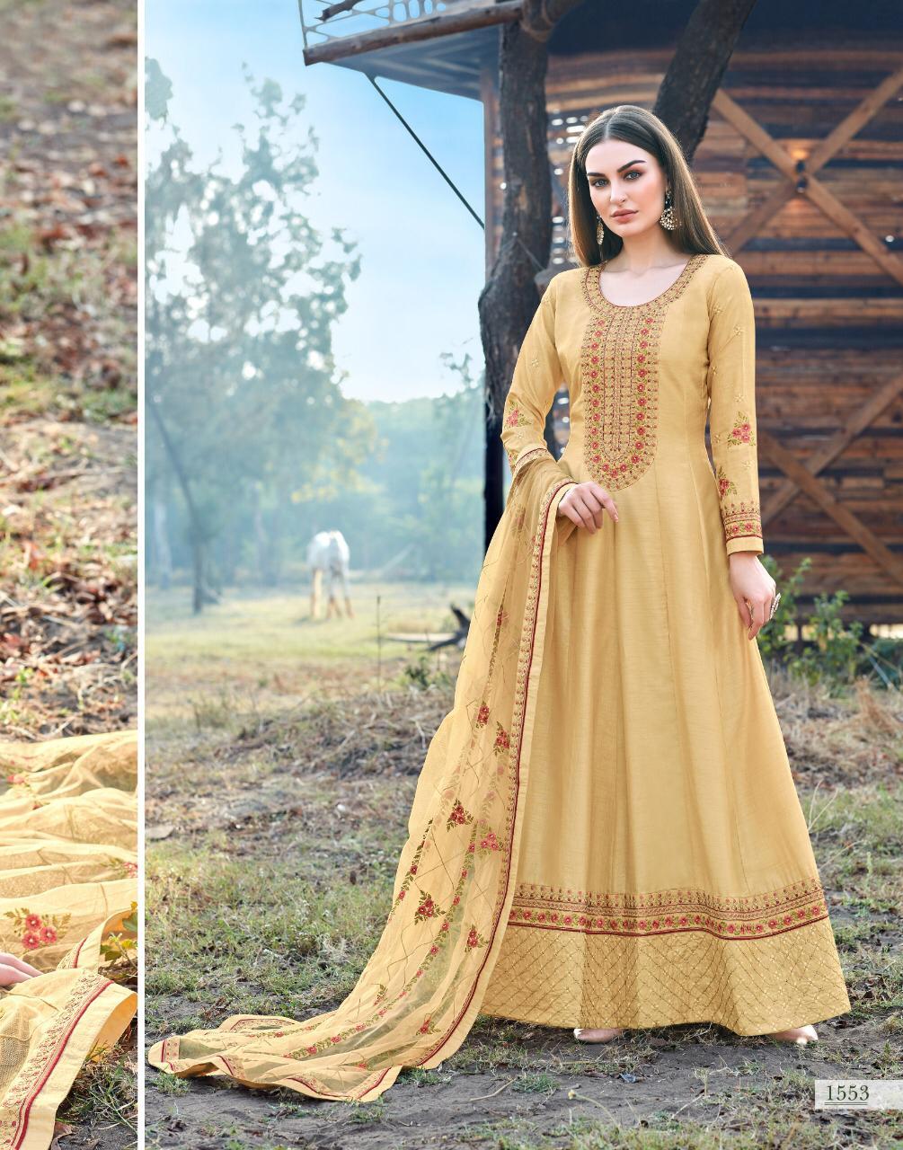 Bela Fashion Kashish Designer Party Wear Heavy Embroidery Suits Wholesale