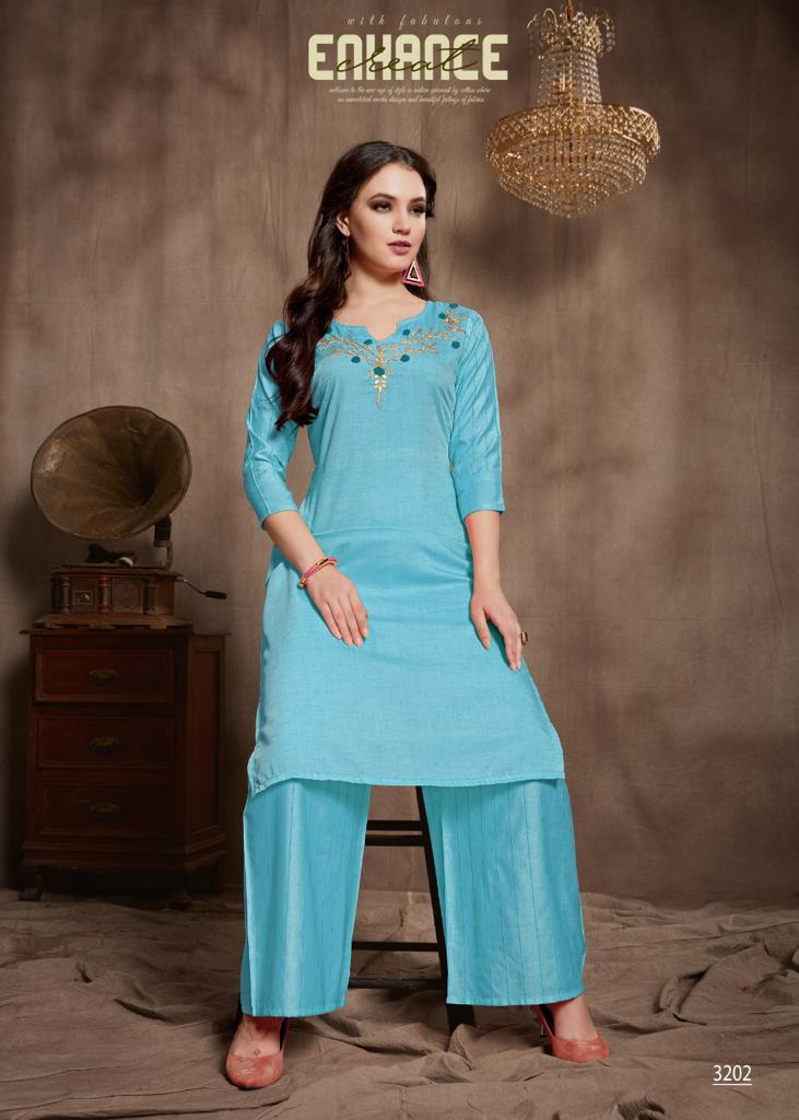 Amaaya Elite Designer Gota Patti Work With Viscose Silk Kurtis Festive Collection In Best Wholesale Rate
