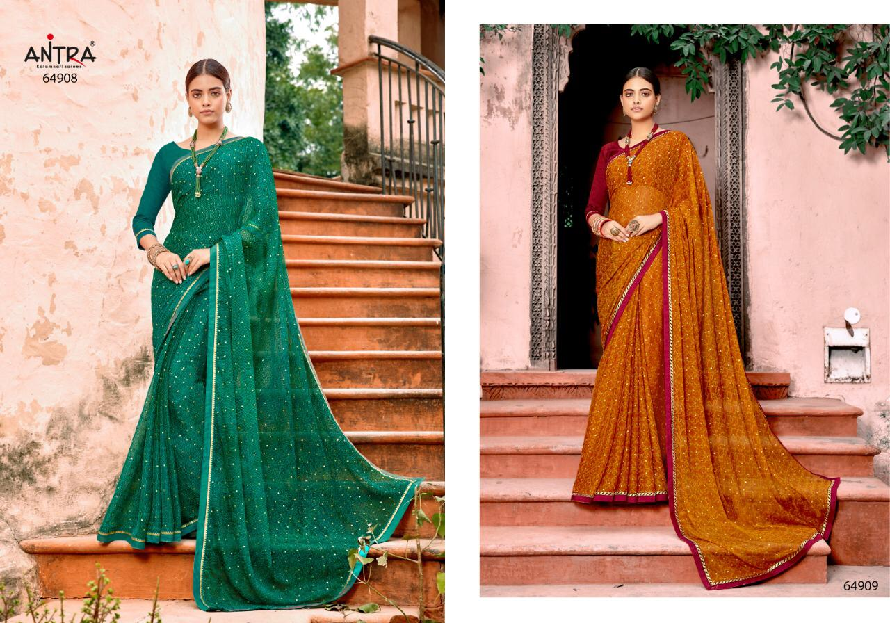 Antra Hasina Designer Premium Quality Outdoor Wear Sarees In Wholesale Rate