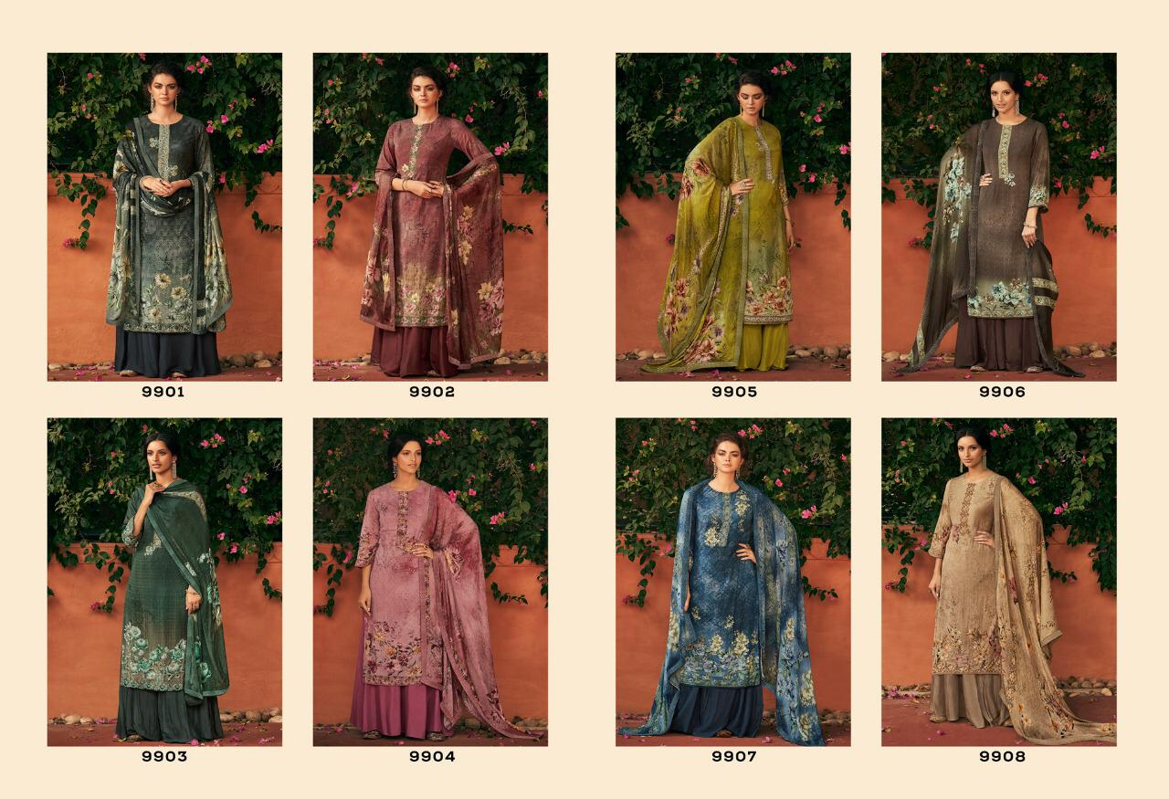 Kimora Heer Ekaaya Designer Handwork And Muslin With Digital Printed Suits In Best Wholesale Rate