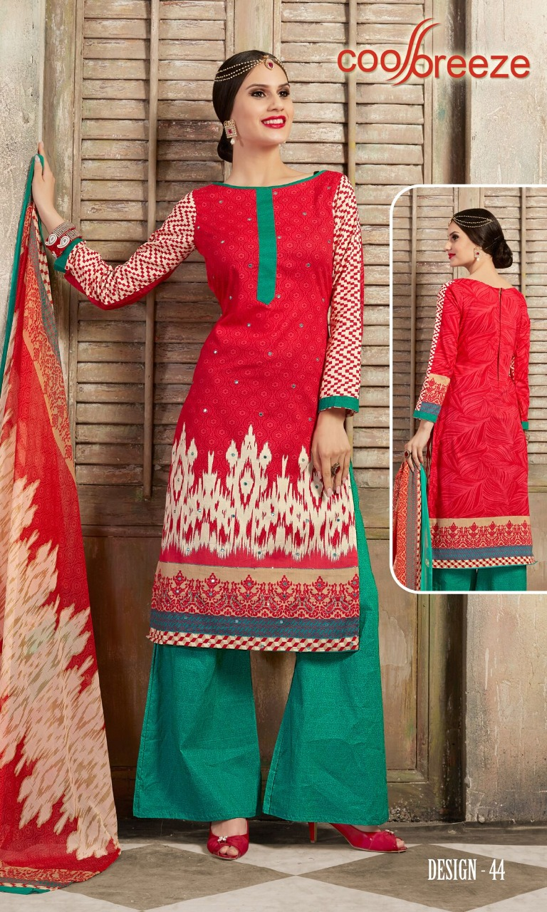 Vishwam Cool Breeze Vol 5 Designer Mirror Work With Cotton Printed Daily Wear Suits In Best Wholesale Rate