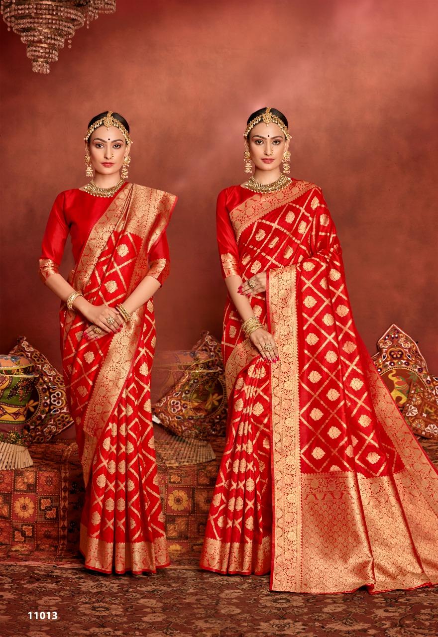 Shakunt Weaves Hrishikesh Art Silk Heavy Designer Sarees Wholesale