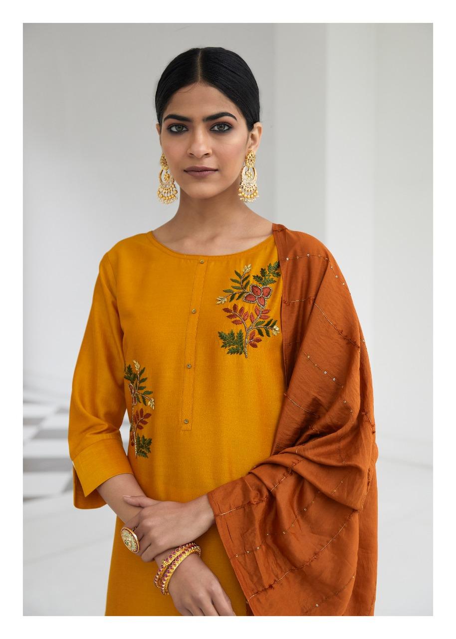Lily And Laly Malaika Designer Bemberg Silk Party Wear Kurti Wholesale