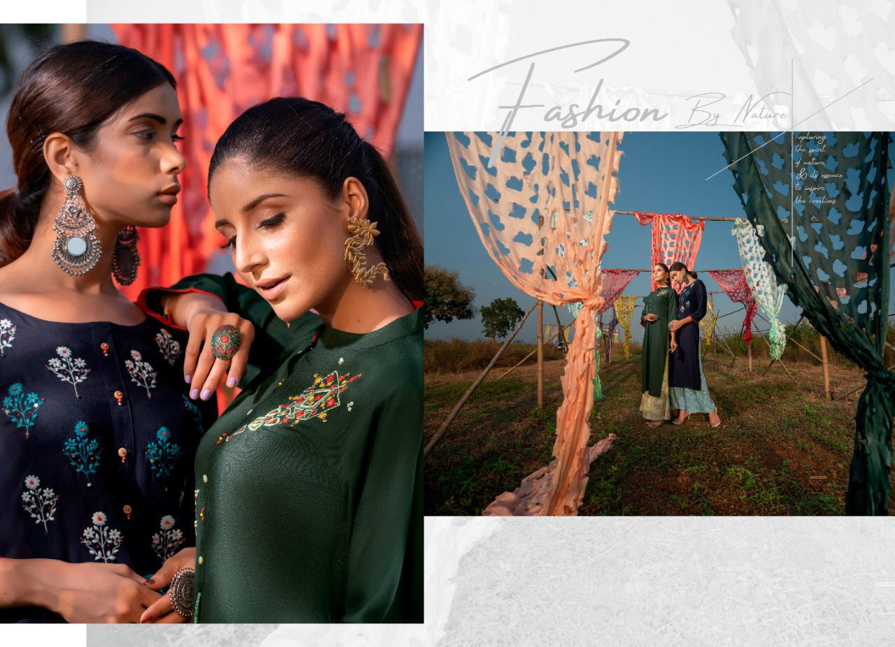 Psyna Plazzo House 11 Designer Party Wear Embroidery Heavy Kurti With Plazzo Set Wholesale