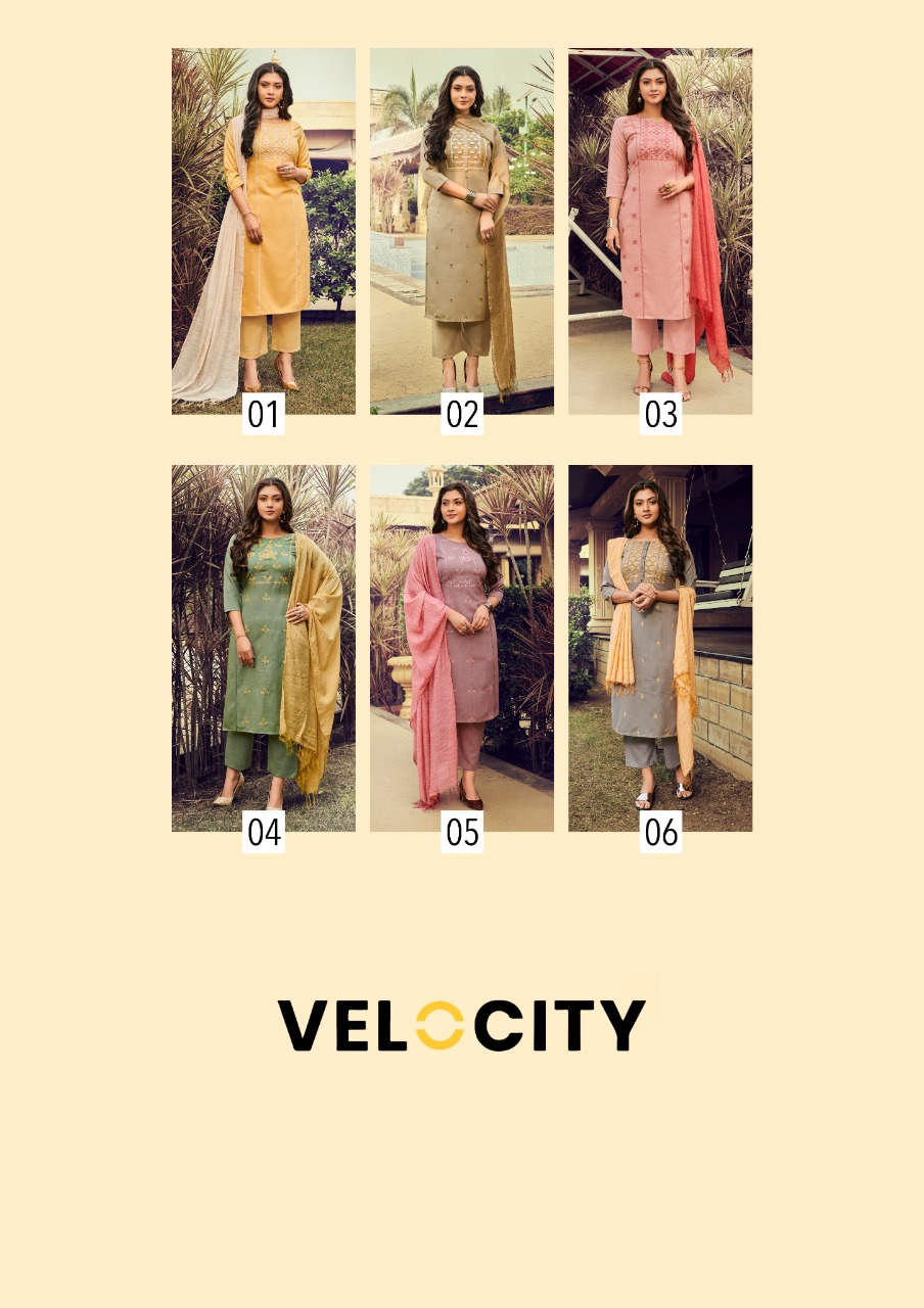 Global Velocity Designer Party Wear Readymade Suits Wholesale