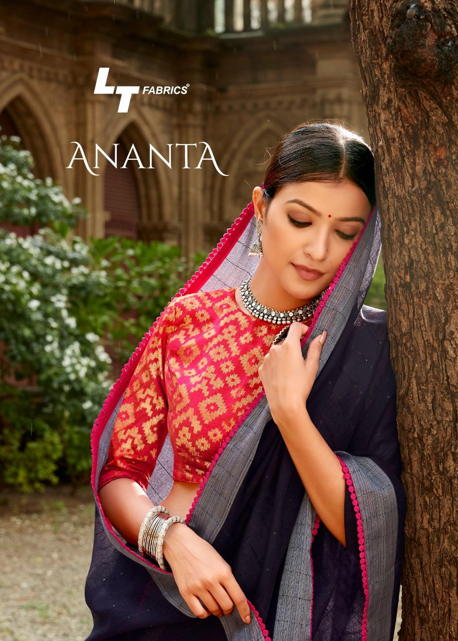 Lt Fashions Ananta Designer Party Wear Heavy Work Saree With Mask