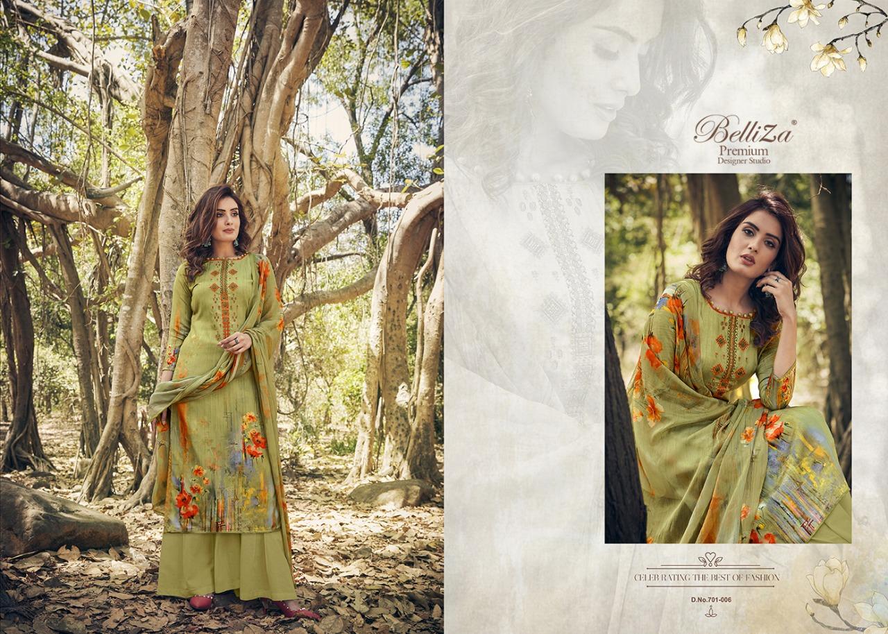 Belliza Layla Heavy Jam Cotton Satin Digital Print Designer Suits Wholesale Available At Best Rates
