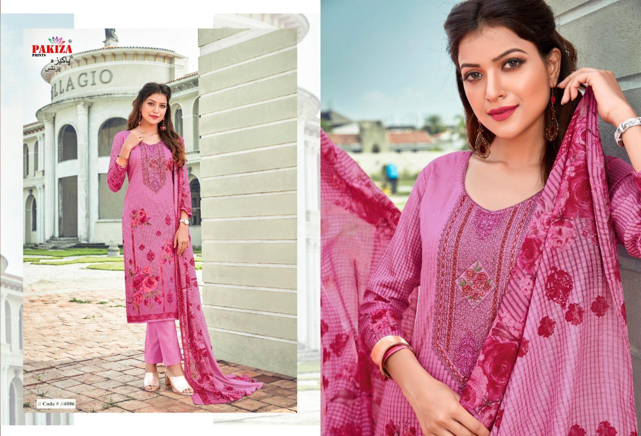 Pakiza Prints Vol 40 Designer Kashmiri Heavy Embroidery Work Suits Wholesale