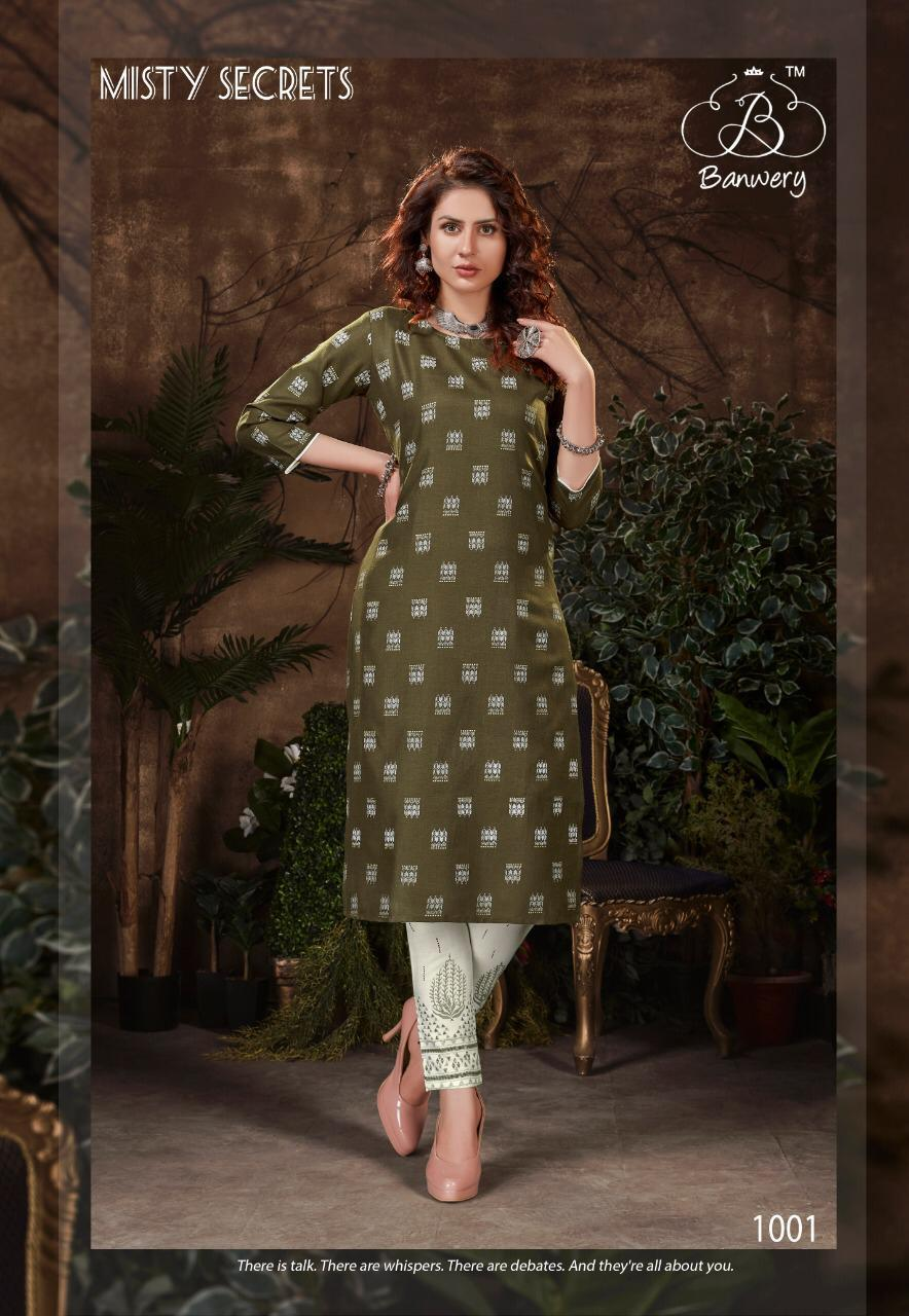 Banwery Bell Bottam Designer Daily Wear Kurti Wholesale Available At Best Rates