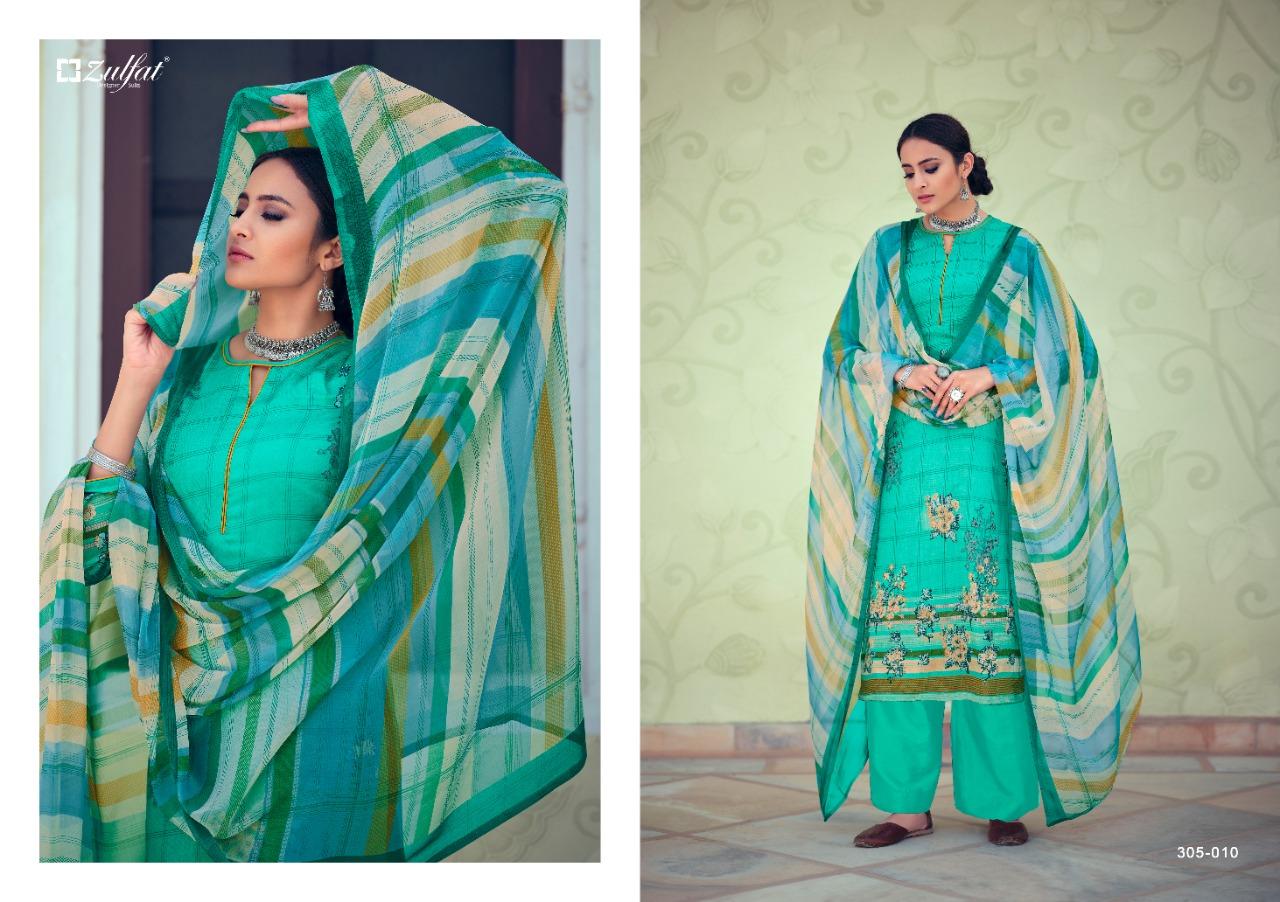 Zulfat Minaaz Heavy Jam Cotton Digital Print Designer Suits Wholesale Available At Best Rates