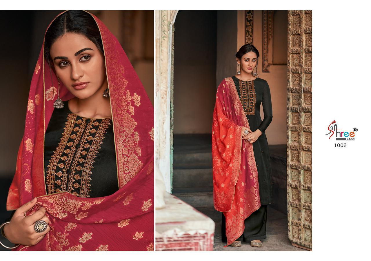 Shree Fab Diyah Vol 2 Tussar Silk Butti With Embrodery Designer Party Wear Suits Wholesale Available At Best Rates